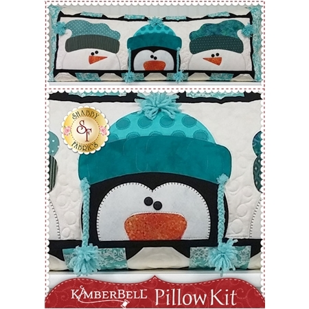 Kimberbell Pillow Kit (Pre-fused & Laser Cut) - Whimsy Winter