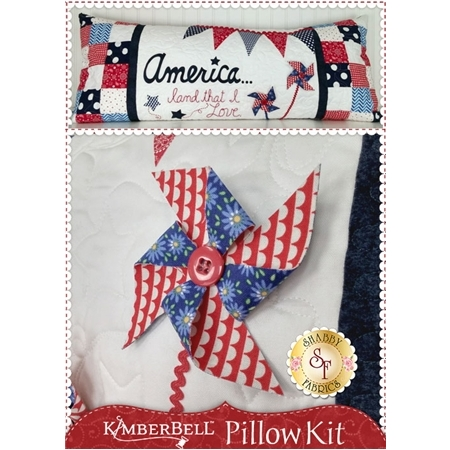 Kimberbell Pillow Kit (Pre-fused & Laser Cut) - America Land That I Love