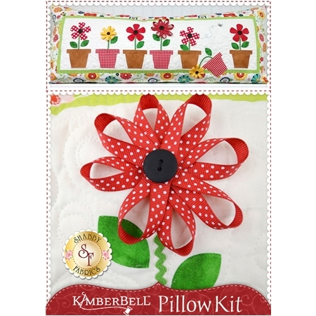 Kimberbell Pillow Kit (Pre-fused & Laser Cut) - May Flowers