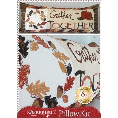 Kimberbell Pillow Kit (Pre-fused & Laser Cut) - Gather Together