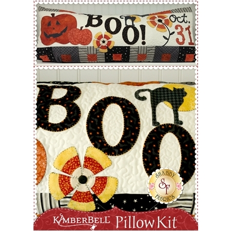 Kimberbell Pillow Kit (Pre-fused & Laser Cut) - Halloween Boo!