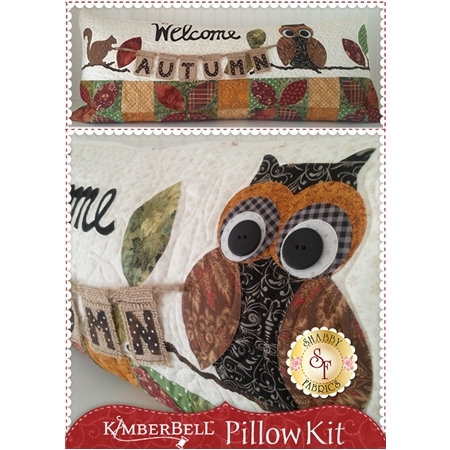 Kimberbell Pillow Kit (Pre-fused & Laser Cut) - Welcome Autumn