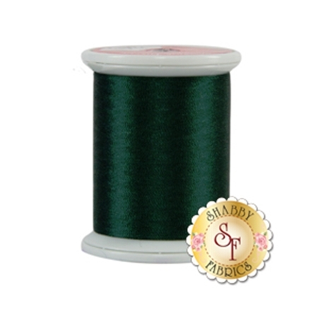 Kimono Silk Thread 349 Godzilla Green by Superior Threads