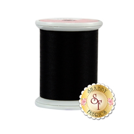 Kimono Silk Thread 380 Black Belt by Superior Threads