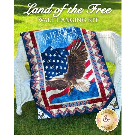Land Of The Free Wall Hanging Kit