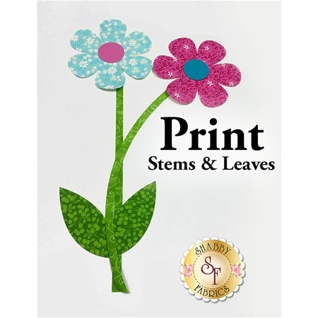 Laser-Cut Print Stems & Leaves - 4 Sizes Available!