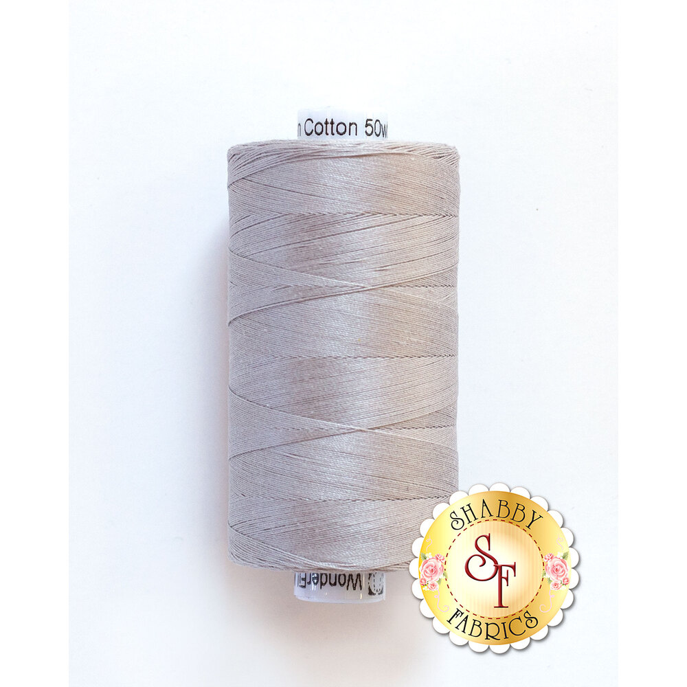 Spool of Konfetti Thread KT905 Light Grey |  Shabby Fabrics