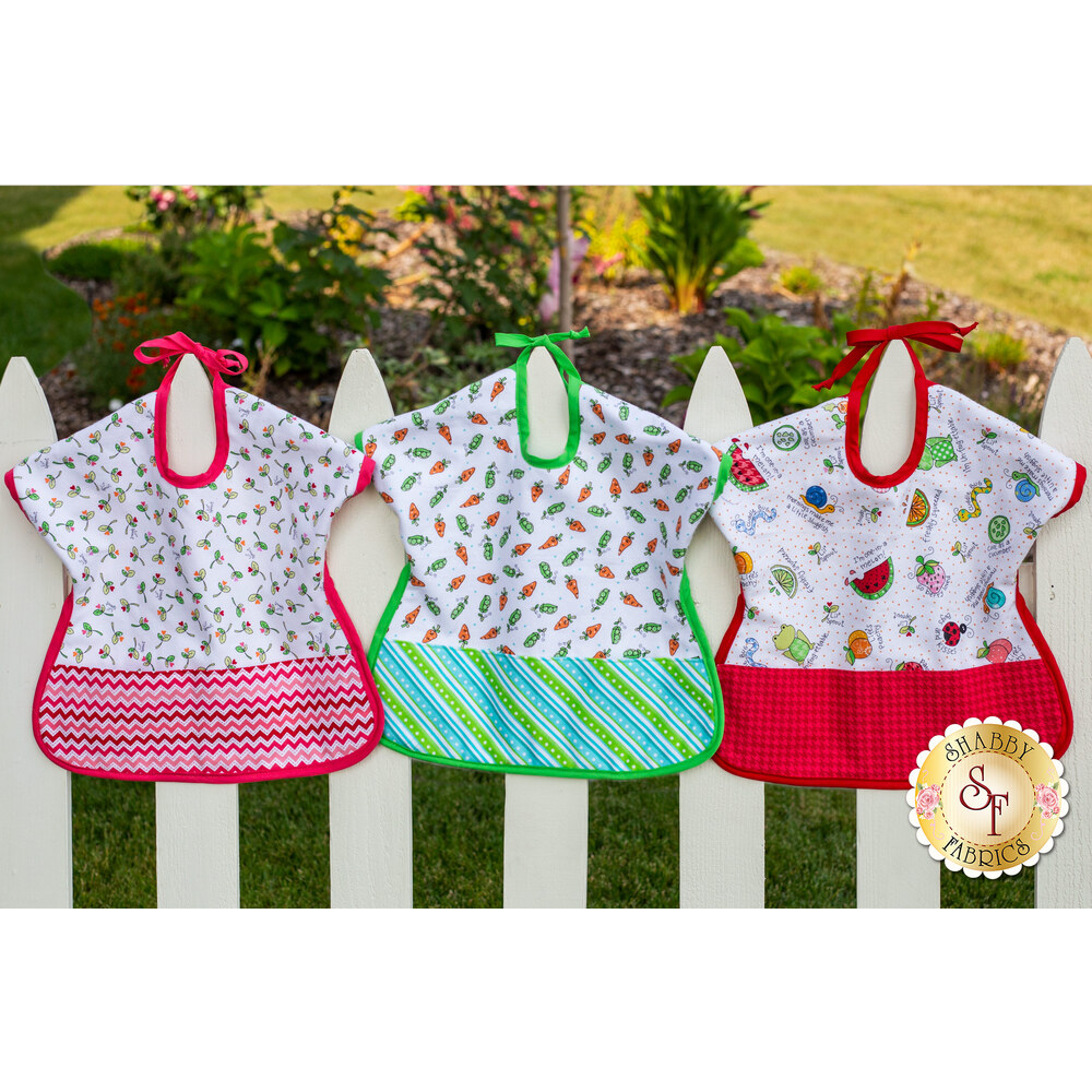 Ultimate Toddler Bib Kit - Lil Sprout Flannel - Video Project