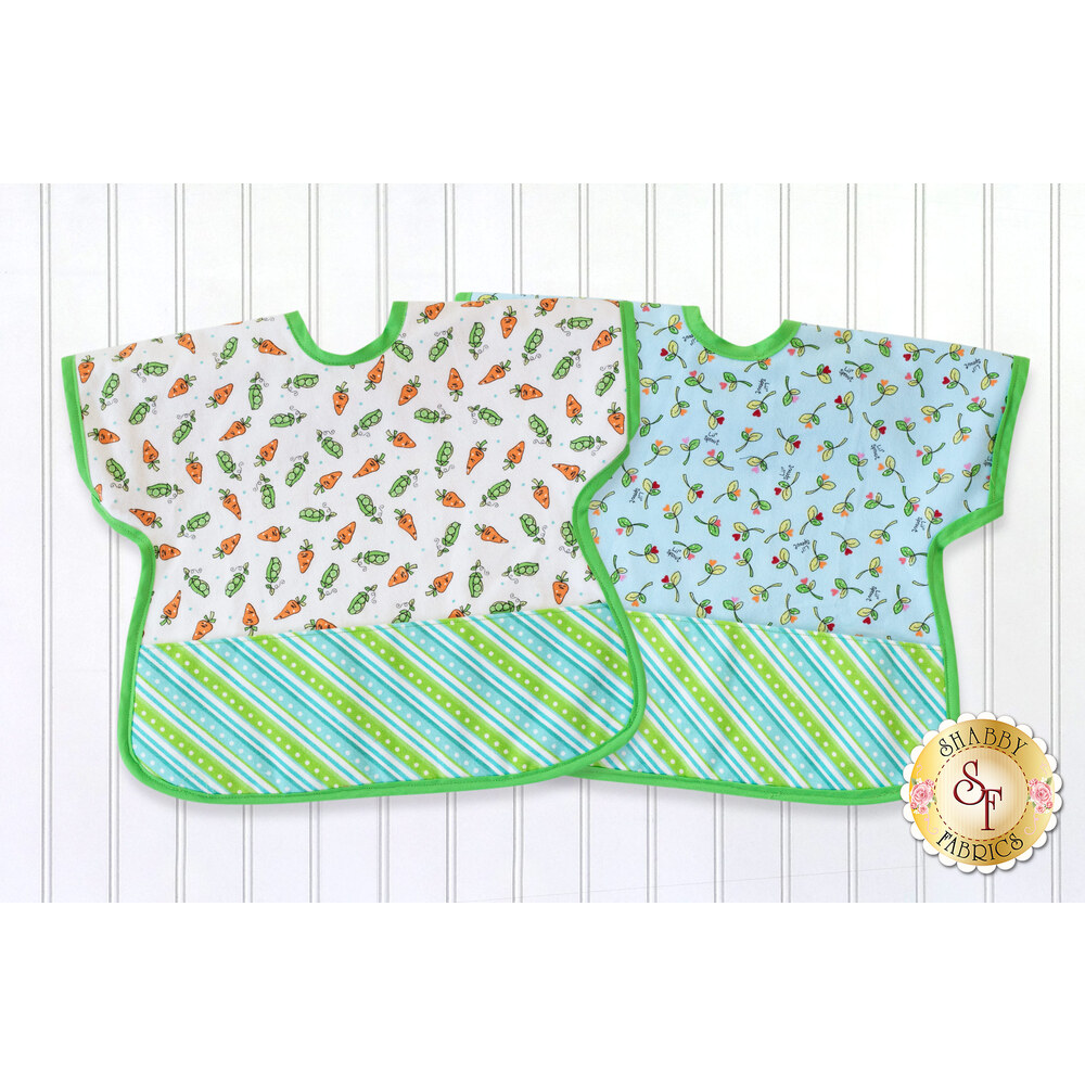 Ultimate Toddler Bib Kit - Lil Sprout Flannel - Blue - Video Project
