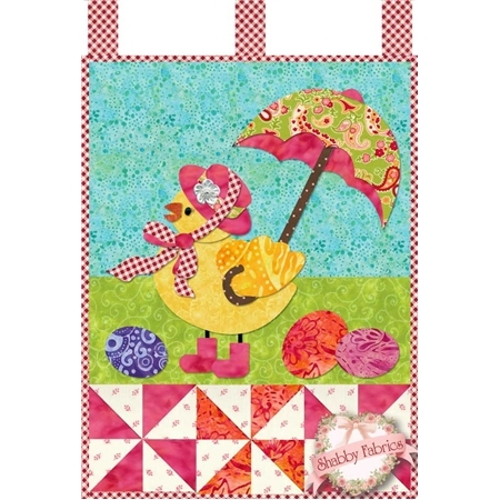 Little Blessings - Miss Chickie Traditional Applique Kit