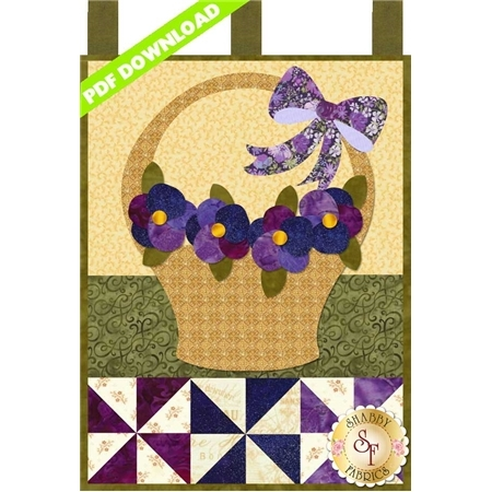 Little Blessings - Pansies for Mom - May - PDF Download