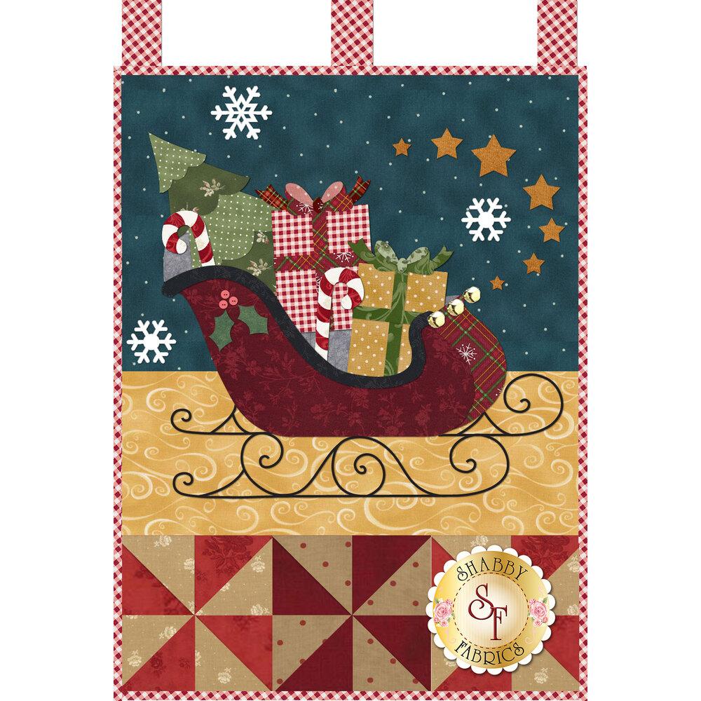 Little Blessings - Santa's Sleigh - December - PDF Download