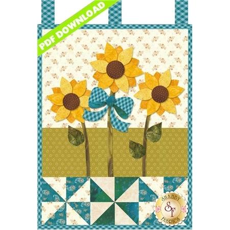 Little Blessings - Sunflower Sunrise - August - PDF Download