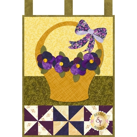 Little Blessings - Pansies for Mom - May - Laser Cut Kit
