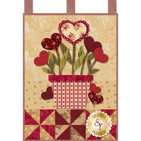 Little Blessings - Blooming Hearts - February - Pattern