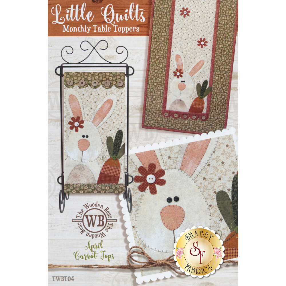 Little Quilts Monthly Table Toppers - April - Pattern   Shabby Fabrics
