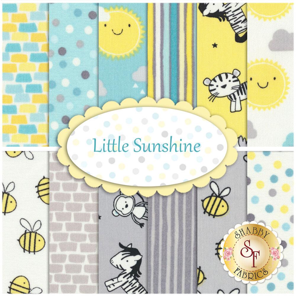 Little Sunshine  12 FQ Set by Wilmington Prints