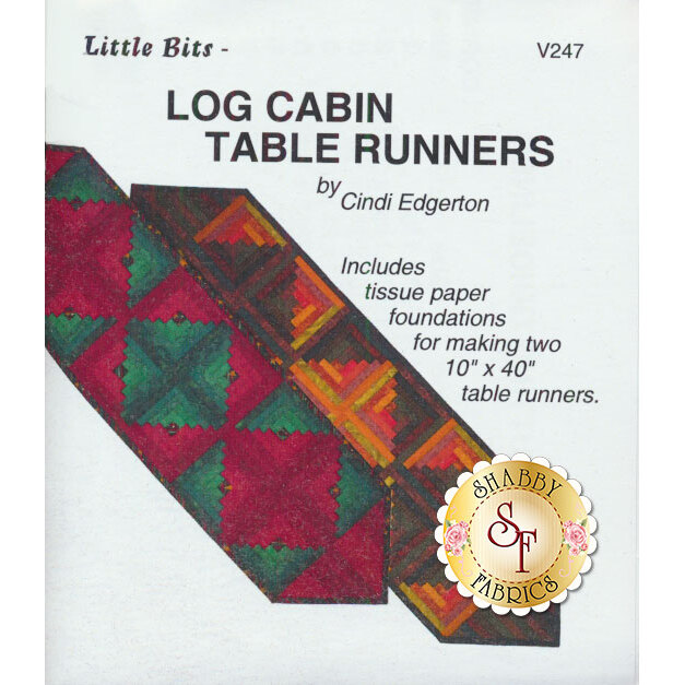 Log Cabin Table Runners Pattern