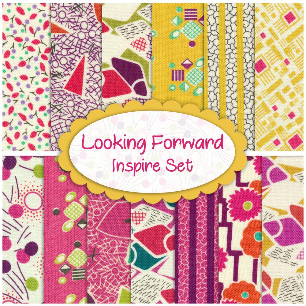 Looking Forward  13 FQ Set - Inspire Set by Moda Fabrics available at Shabby Fabrics