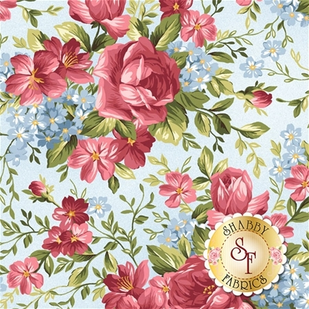 Roses On The Vine 8432-B by Marti Michell for Maywood Studio Fabrics
