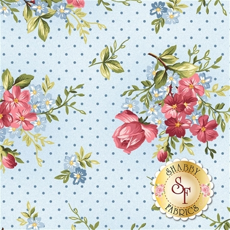 Roses On The Vine 8433-B by Marti Michell for Maywood Studio Fabrics
