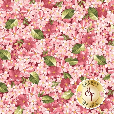 Roses On The Vine 8434-R by Marti Michell for Maywood Studio Fabrics