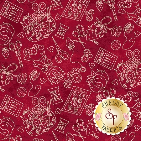 The Little Things 9100-R by Maywood Studio Fabrics
