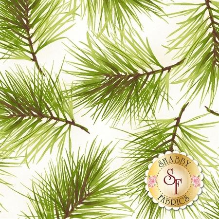 Poinsettia & Pine 9124-E by Maywood Studio Fabrics