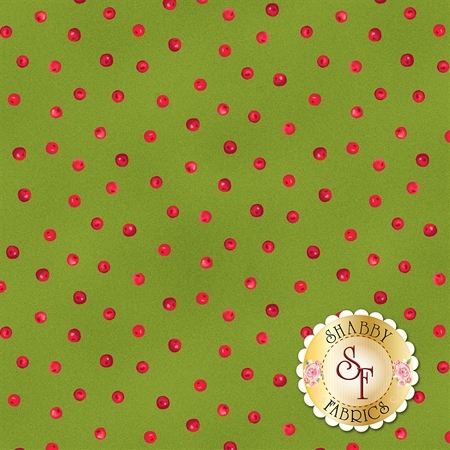 Poinsettia & Pine 9125-G by Maywood Studio Fabrics