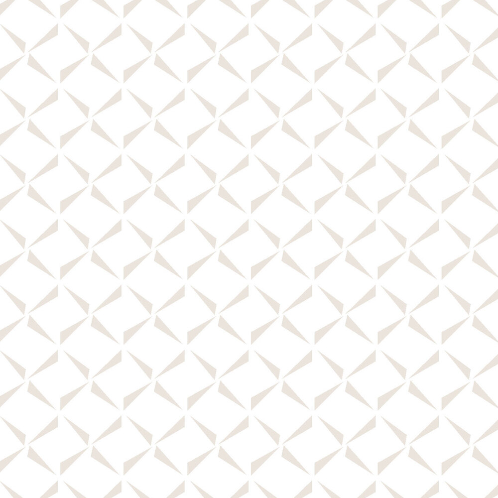 Pearlescent crosshatch pattern on a white background | Shabby Fabrics