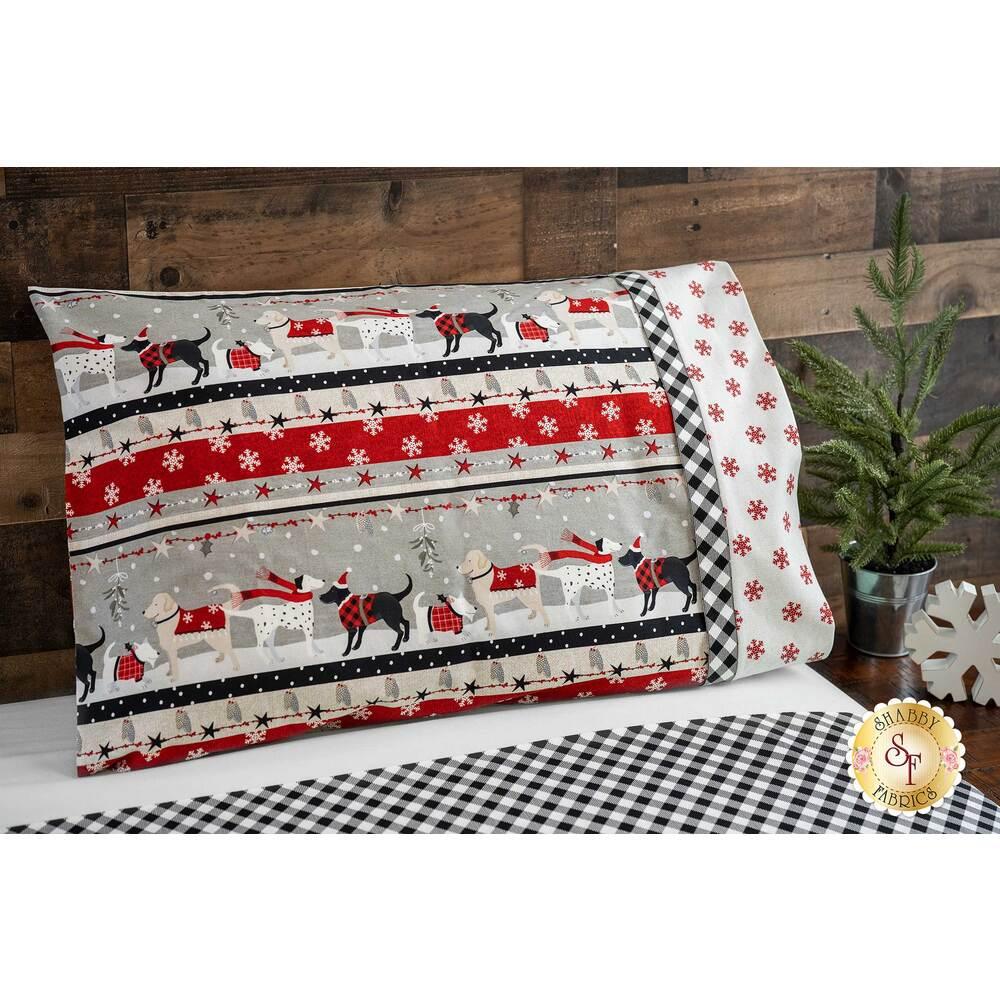 Magic Pillowcase Kit - Holiday Road Trip - Standard Size - White