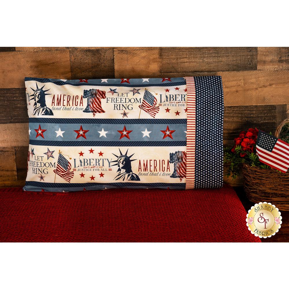 Magic Pillowcase Kit - Liberty Lane - Standard Size - Stripe