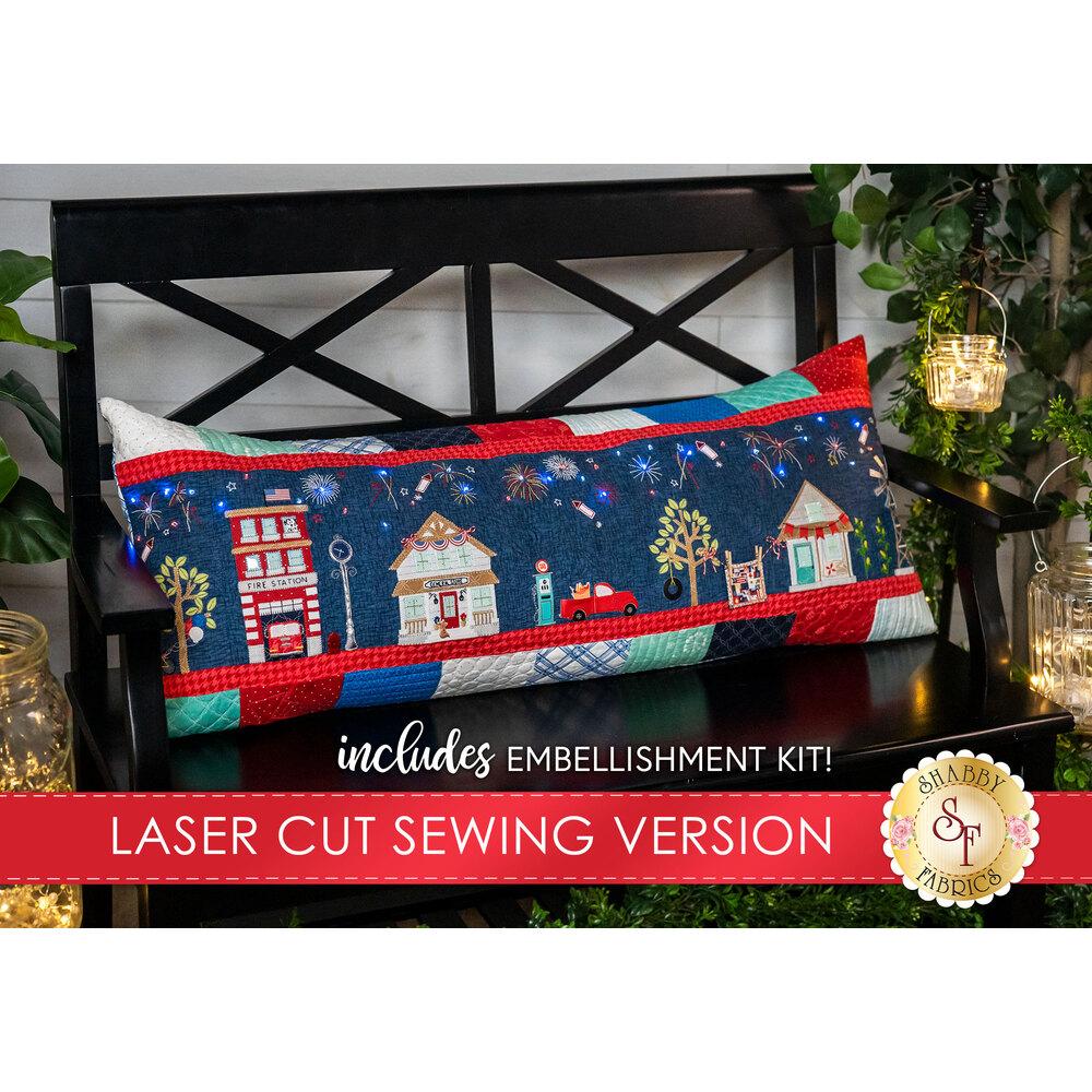 Main Street Celebration Bench Pillow Kit - Sewing Version
