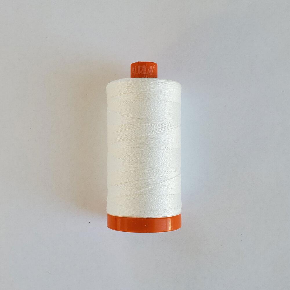 Mako Cotton Thread - Natural White - 1422yds | Shabby Fabrics