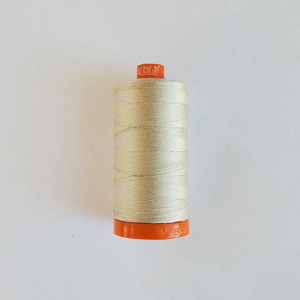 Mako Cotton Thread - Light Beige - 1422yds | Shabby Fabrics
