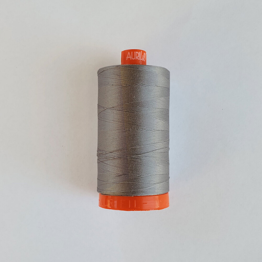 Mako Cotton Thread - Grey - 1422yds | Shabby Fabrics
