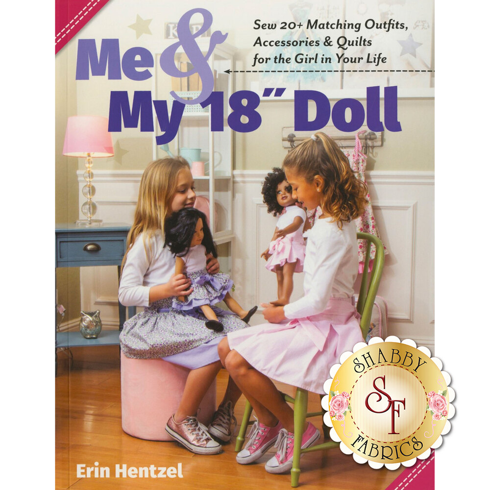 "Me & My 18"" Doll Book | Shabby Fabrics"