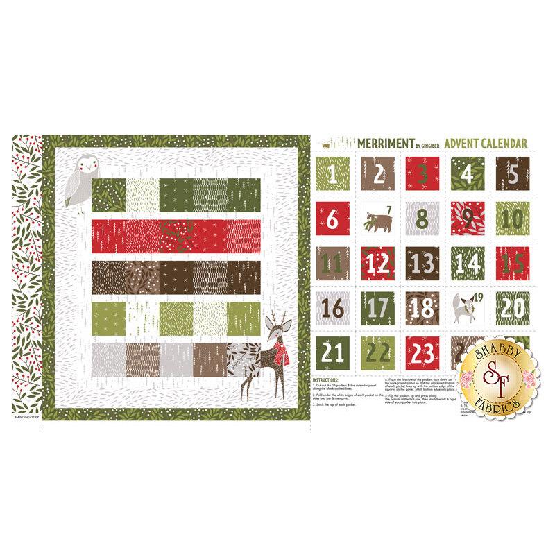 Merriment 48272-11 Panel by Moda Fabrics available at Shabby Fabrics