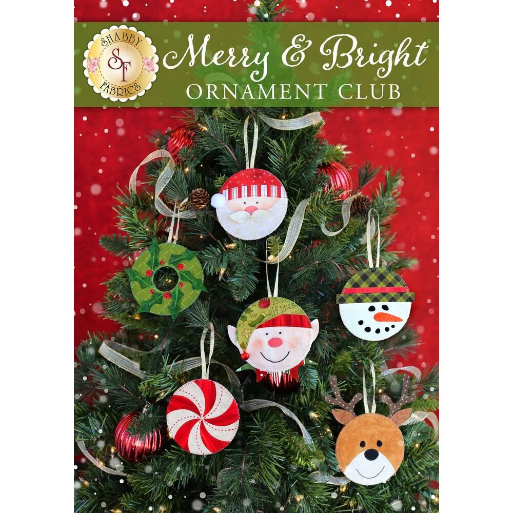 Merry & Bright Ornament Club - Pre-Fused/Laser Cut