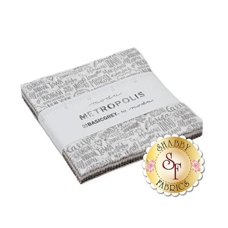 Metropolis  Charm Pack by Moda Fabrics