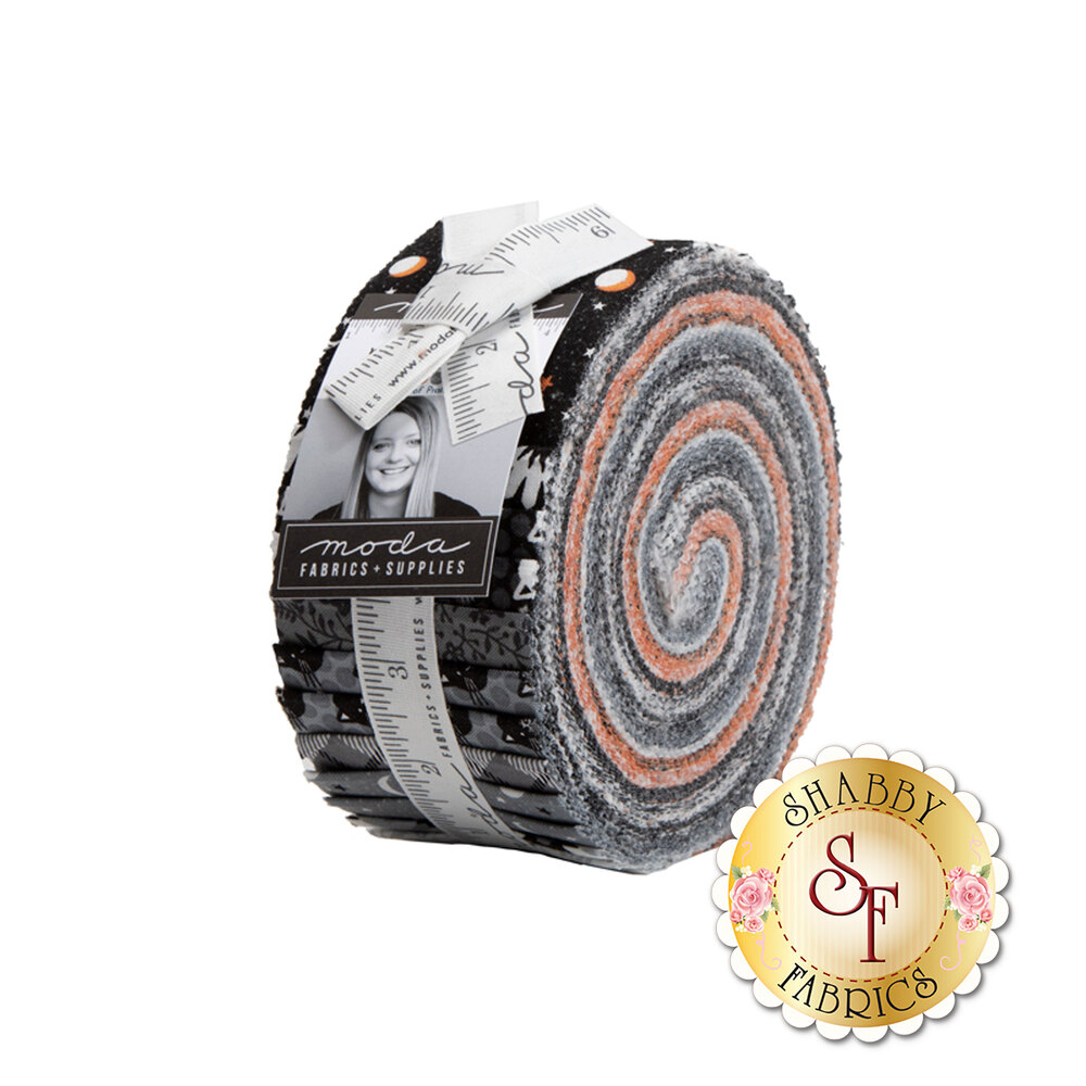 The Midnight Magic Jelly Roll | Shabby Fabrics