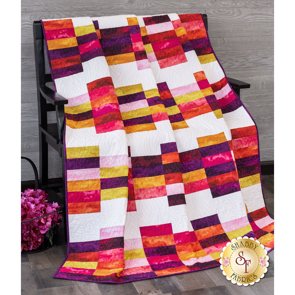 The Lady Quilt Kit - Misty Begonia now available