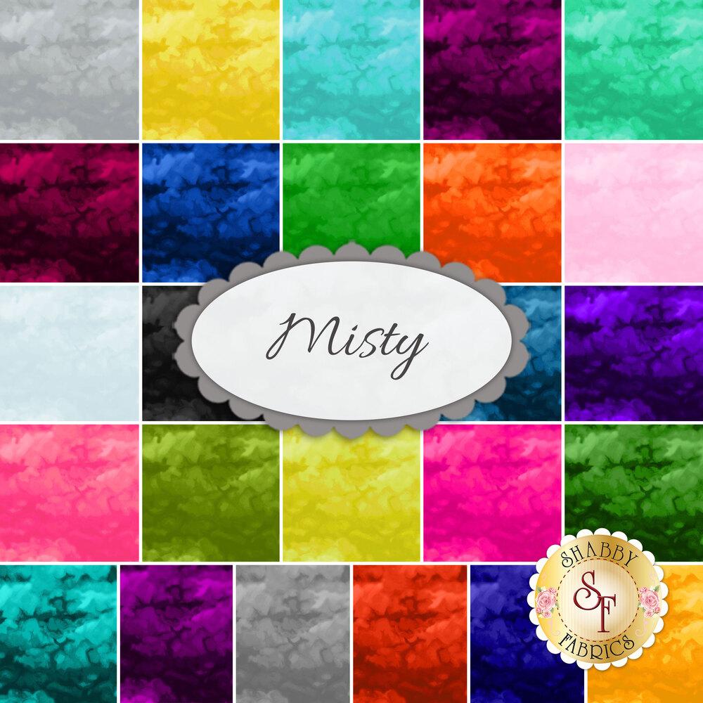 Misty  Yardage by Clothworks Fabrics