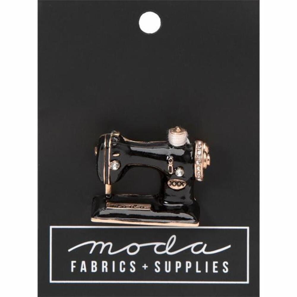 Moda Sewing Machine Pin | Shabby Fabrics
