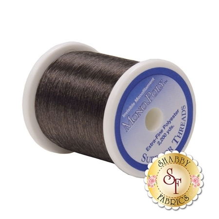 MonoPoly Reduced-Sheen Smoke 2,200 yd. Spool