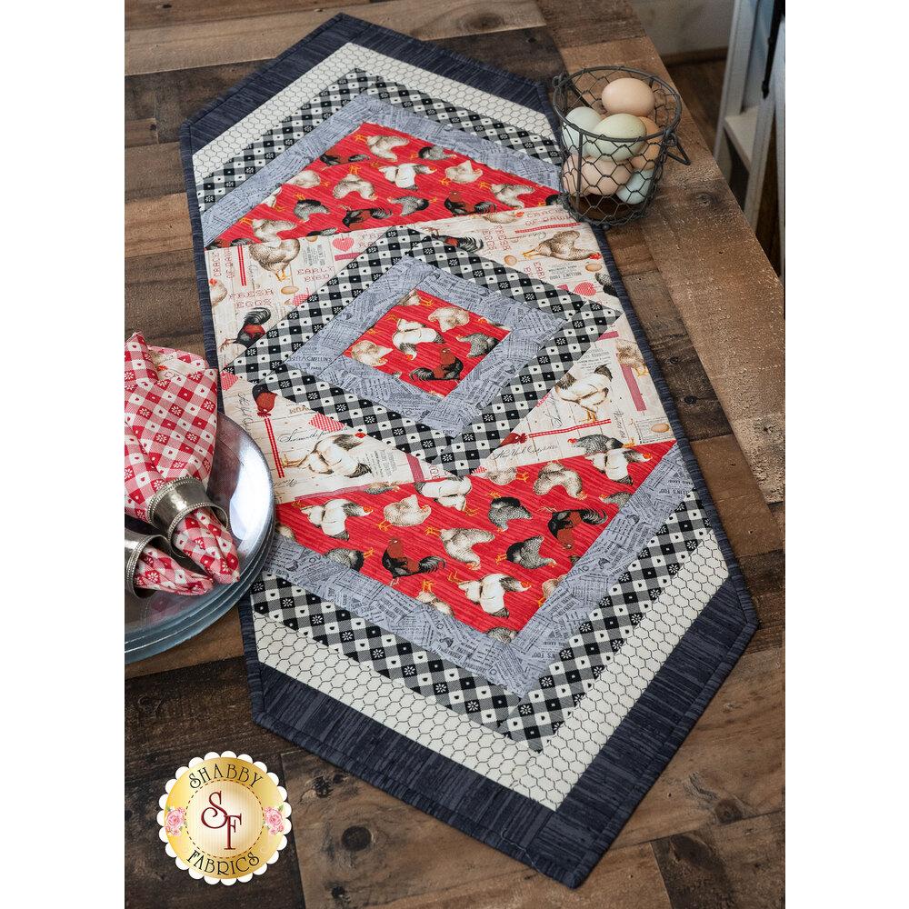 Quilt As You Go Morning Blend Table Runner Kit - Early Bird