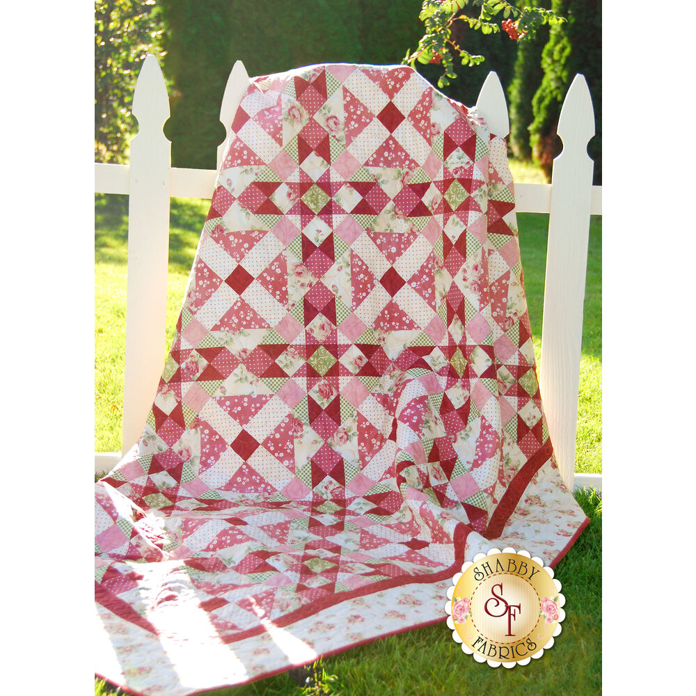 Morning Blush Quilt Pattern