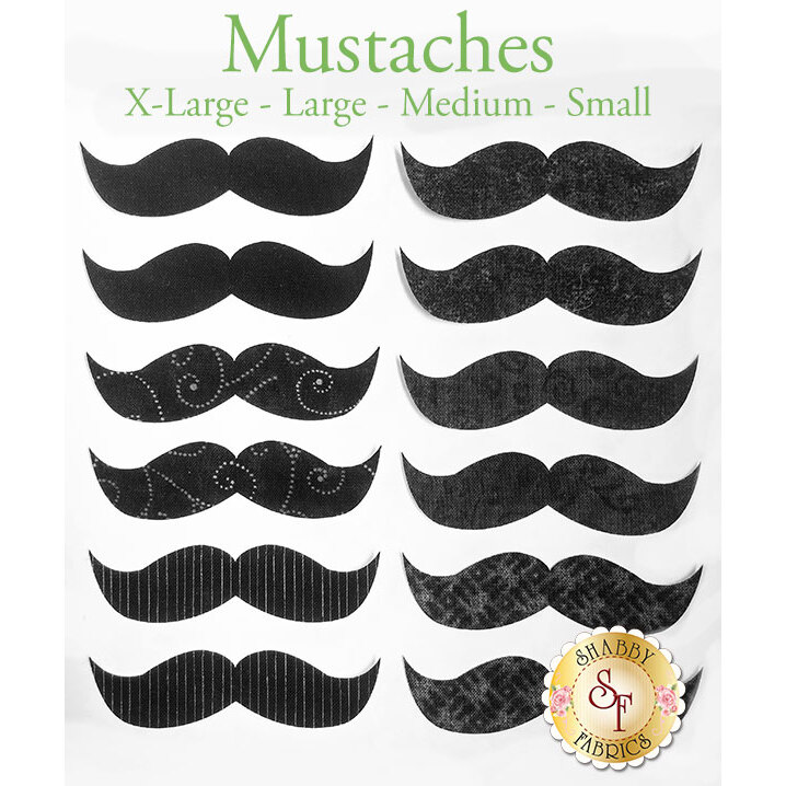 Laser-Cut Mustaches - 4 Sizes Available!