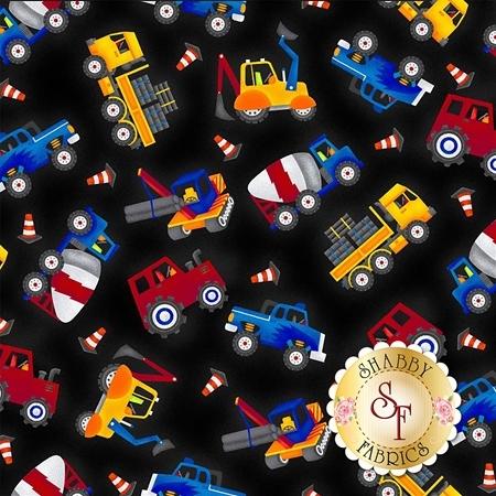 My Favorite Trucks 2206-99 by Henry Glass Fabrics