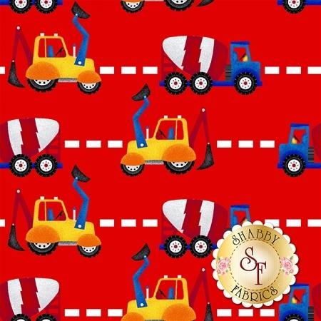 My Favorite Trucks 2209-88 by Henry Glass Fabrics